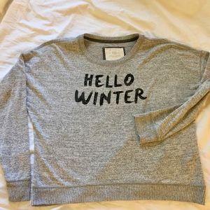Abercrombie Finch  lightweight sweater
